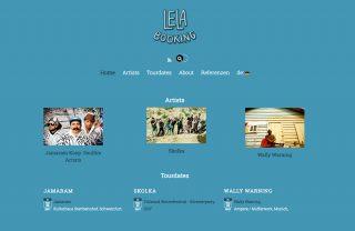 logodesign und responsive website redesign lela booking