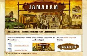 jamaram promo website