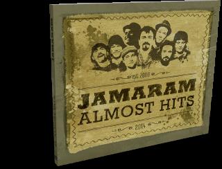 cd digipack jamaram album poster almost hits