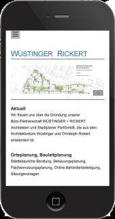 wüstinger rickert architekten iphone