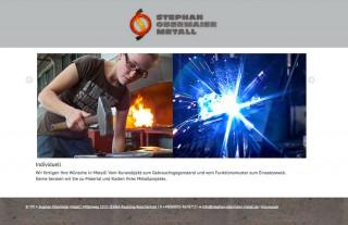 stephan obermaier metall webvisitenkarte