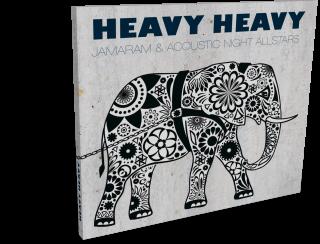 cd digipack jamaram & acoustic night allstars »heavy heavy«