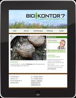 responsive redesign bio-kontor7