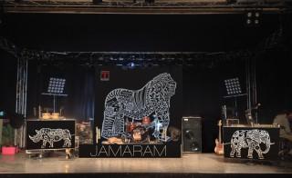 stagedesign für die jamaram liveshow
