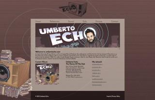 web design umberto echo version 2 responsive