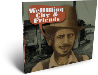 cd cover digipac design weBBling city & friends