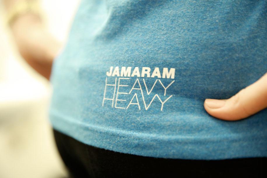 heavy heavy shirt girl back