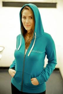 heavy heavy hoodie girl front