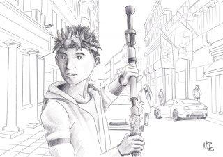 zeichnungen kurzfilm superheroes