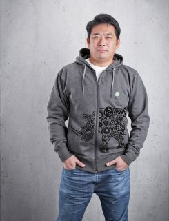 rhino boys hoodie front
