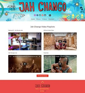 responsive website redesign jah chango