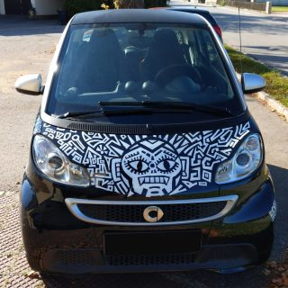 kfz bemalung smart fortwo electric drive