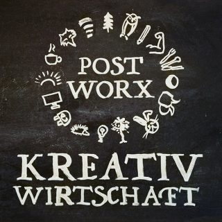 corporate design post-worx kreativwirtschaft
