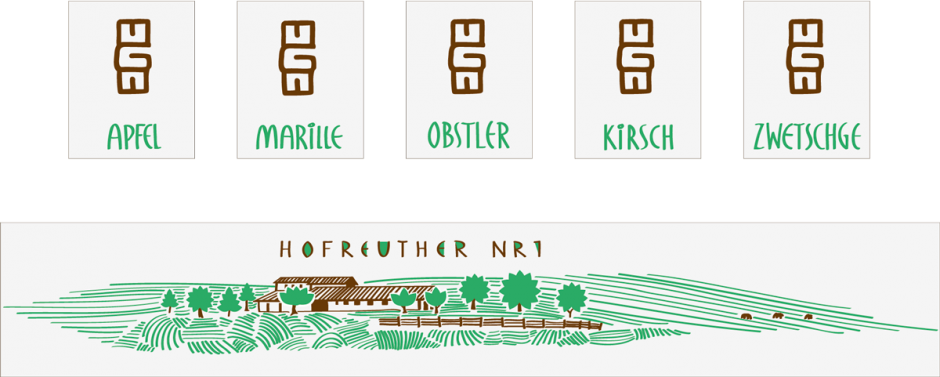 etiketten hofreuther nr.1
