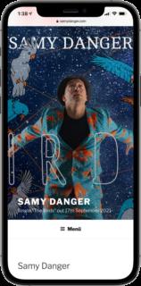 www.samydanger.com iphone screen