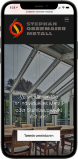 screen smartphone stephan obermaier metall