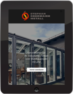 screen ipad stephan obermaier metall
