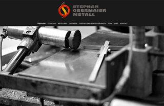 responsive website stephan obermaier metall
